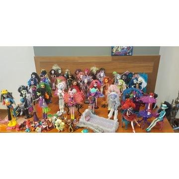 Wielka kolekcja Monster High + mega gratisy!!!