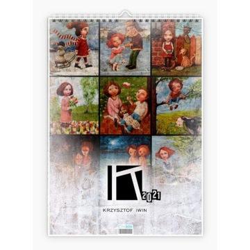 """Krzysztof Iwin - """"12 miesięcy"""" kalendarz autorski"""