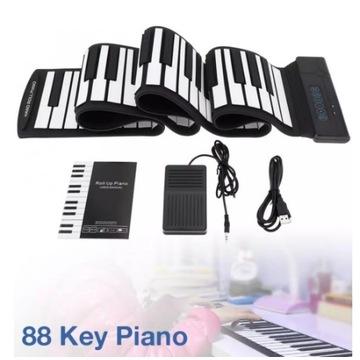 Roll Up Piano 88 klawiszy - używany