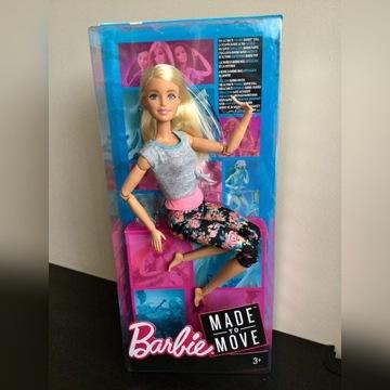 Barbie Made to move gimnastyczka nowa