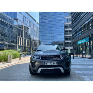 Range Rover Evoque, I właściciel, bezwypadkowy