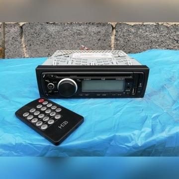Radio samochodowe 1DIN, USB, CD
