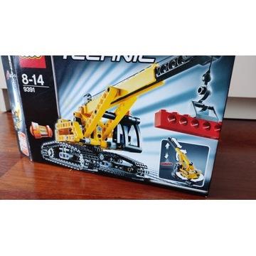 Lego Technic-dźwig gąsiennicowy 9391