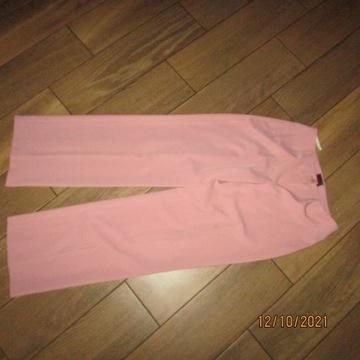 Spodnie Eleganckie roz 42- brzoskwiniowe