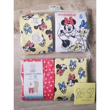 Piżama Disney 86 Myszka Minnie Daisy