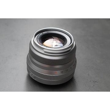 Fujinon Fujifilm 35mm f2.0 silver srebrny