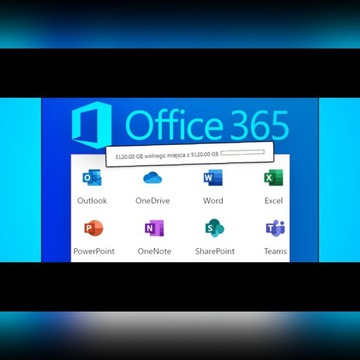 MS OFFICE 365 + OneDrive dysk 5TB! -80%