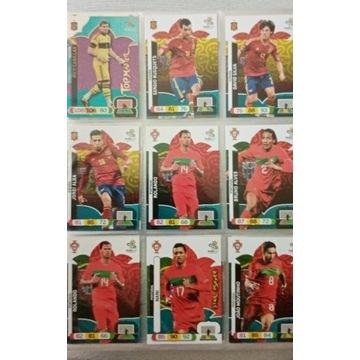 Karty kolekcjonerskie z piłkarzami