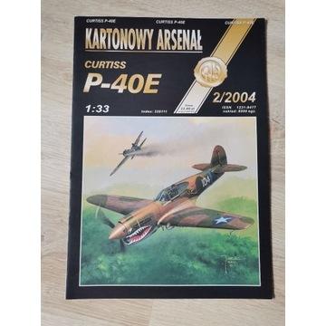 P-40E Kartonowy Arsenał 1/33