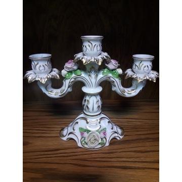 Świecznik porcelanowy Kaiser