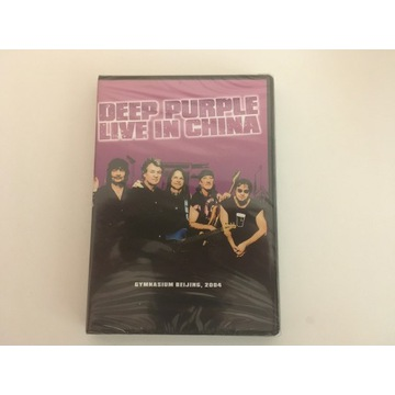 "Deep Purple ""Live in China ""DVD"