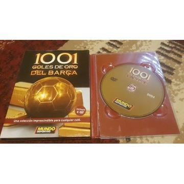 FC Barcelona 4 DVD 1001 goli piłka nożna