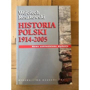 """""""Historia Polski 1914-005"""" Wojciech Roszkowski"""