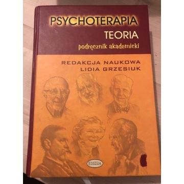 Psychoterapia teoria- podręcznik akademicki