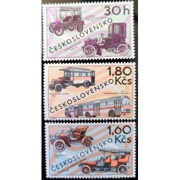 Motoryzacja - CZECHOSŁOWACJA** 1969