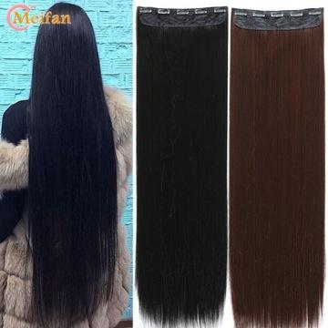 Włosy CLIP-ON 70 cm.