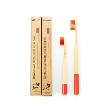 Zestaw rodzinny 1+1 bambusowe szczoteczki