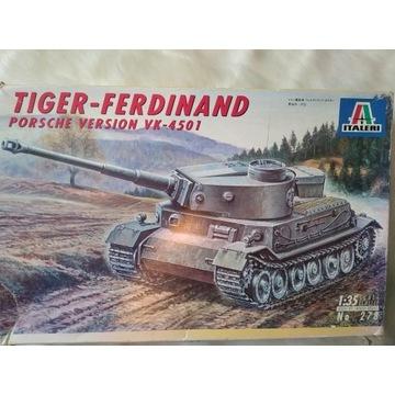 Tiger Ferdinand Porsche Version VK-4501 ITALERI
