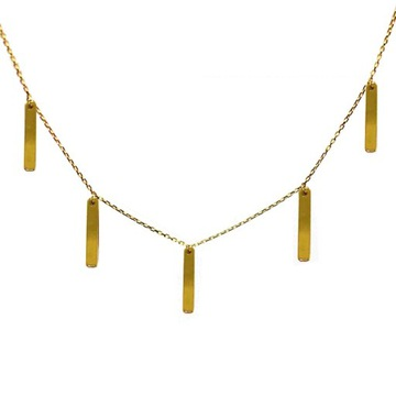 Naszyjnik choker złoty 585