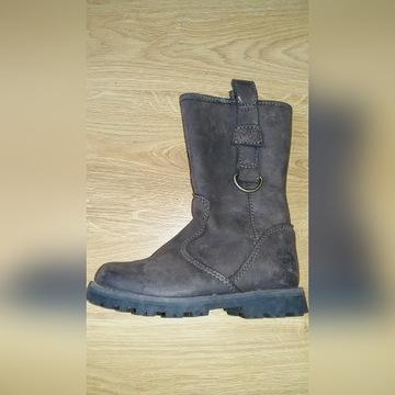 Buty skórzane Timberland eu. 25 dziewczynka