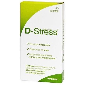 D-Stress, 40 tabletek