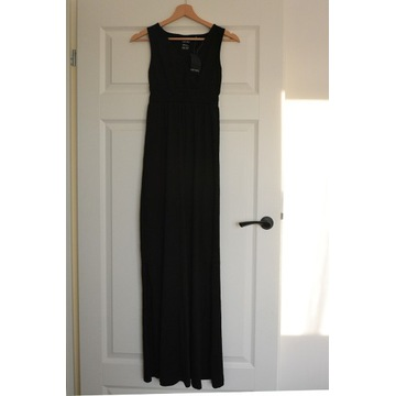 Esmara sukienka maxi czarna rozm. XS
