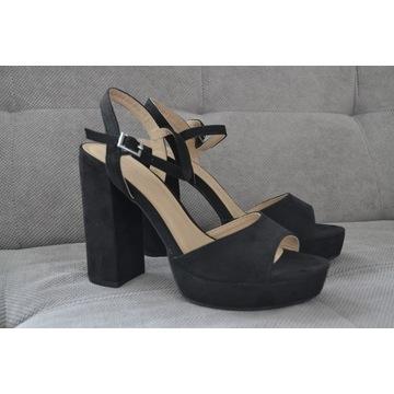 Nowe buty na słupku czarne Anna Field r 38