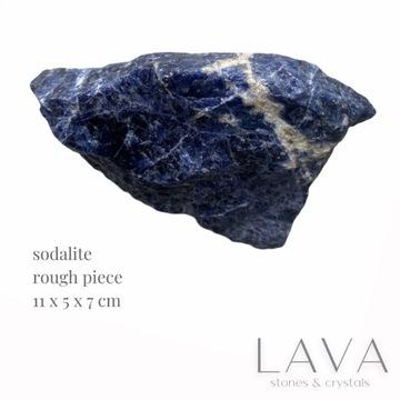 sodalit surowa bryłka naturalny kryształ