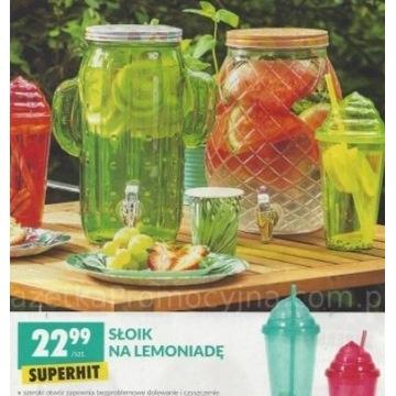 słoik na lemoniadę nowy