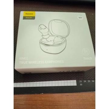 Baseus WM01 słuchawki bezprzewodowe
