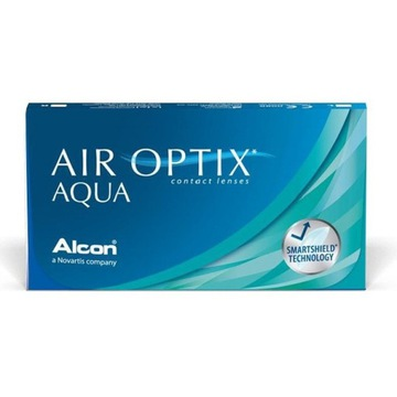 AIR OPTIX AQUA 2x6 szt. PWR -6.00