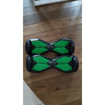 Elektryczna deskorolka KAWASAKI czarno-zielona