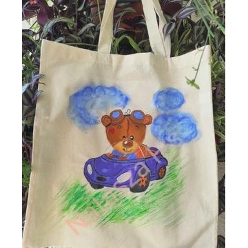 Ręcznie malowane eko-torebki
