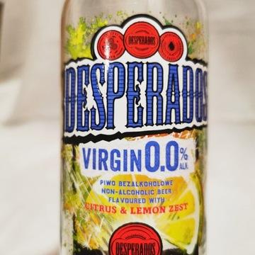 Butelka po piwie Desperados Citrus & Lemon zest
