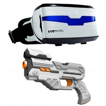 Gra Cobi VR 3D Alien Blasters google pistolet BT