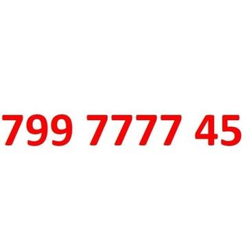 799 7777 45 starter play złoty numer 77777