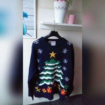Sweter świąteczny XXL Choinka