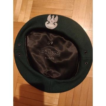 Zielony beret wojskowy WP rozmiar 57