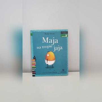 ''Maja na tropie jaja''-książka
