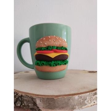 Kubek Handmade hamburger modelina jedzenia