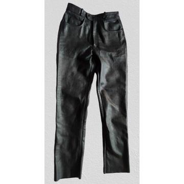 Spodnie skórzane męskie motor