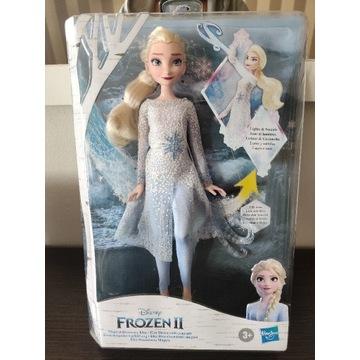 Lalka ELSA Frozen II, Kraina Lodu, Świecąca, NOWA