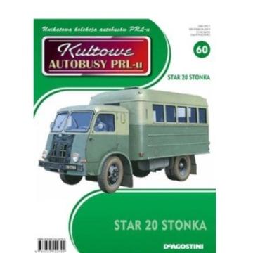 KULTOWE AUTOBUSY PRL-U NR 60 STAR 20 STONKA