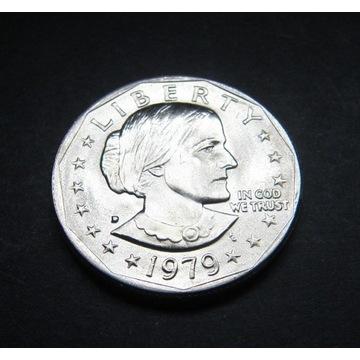 One dollar 1 dollar 1979 D