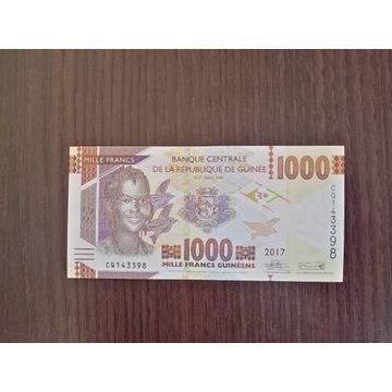 GWINEA 1000 FRANCS - UNC