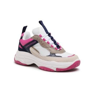 CALVIN KLEIN JEANS Sneakersy Maya R0802 Rozmiar 38