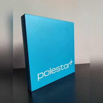 Volvo Polestar team cyan pudełko box S60 V60