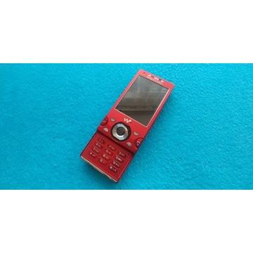 Sony Ericsson w595 w kolorze czerwonym