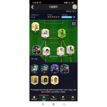 FIFA 21 świetny skład