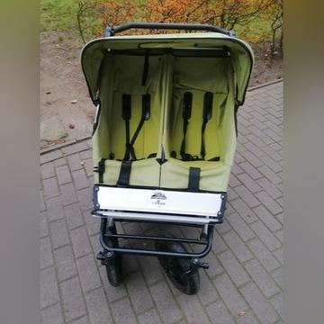 Wózek bliźniaczy podwójny mountain buggy